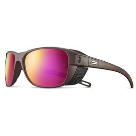 Julbo Camino Spectron 3CF Lunettes de soleil, brown/black/multilayer rosa